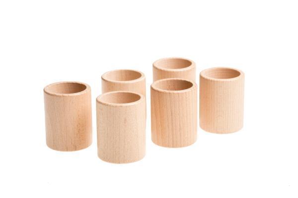 Becher aus Holz