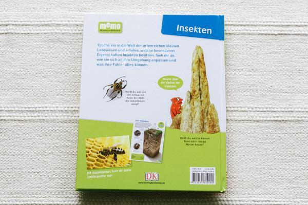 Insekten Käfer bienen Schmetterline memo Wissen entdecken