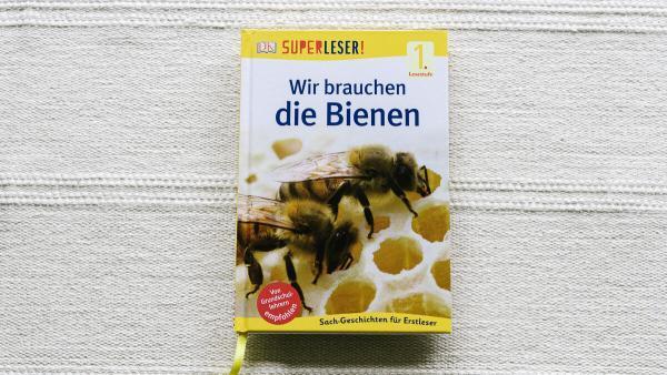 Sachbuch über Bienen für Kinder im Kindergarten und Lesestufe 1
