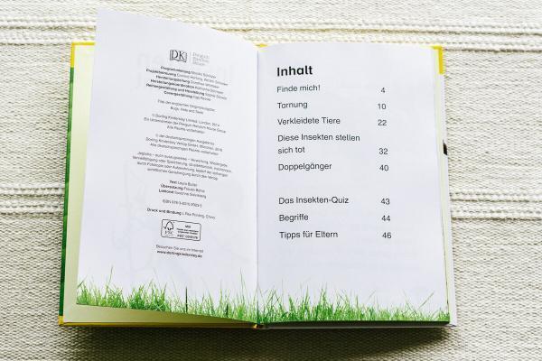 Insekten top getarnt - Superleser - Sachbuch für Leseanfänger