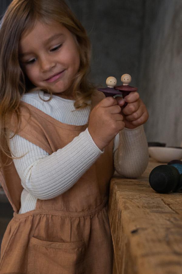 Holzfigur little things von grapat - freispiel - holzspielzeug