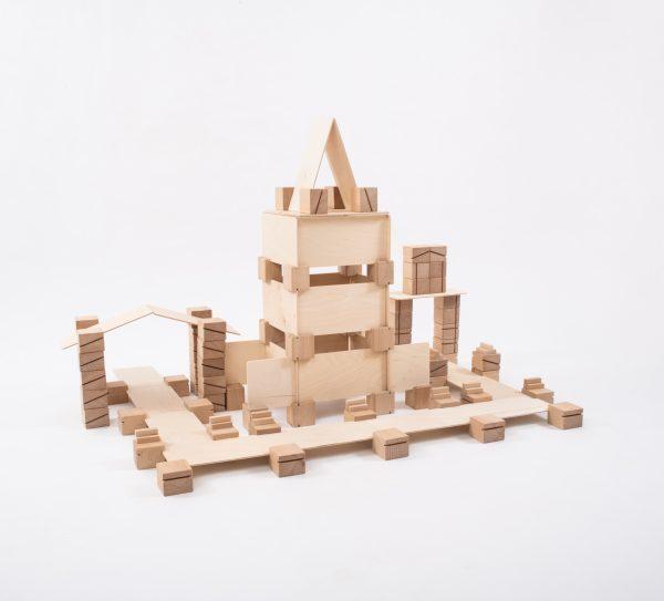 Holzbauklötze für Kinder - Freispiel - Spielzeug für Kinder