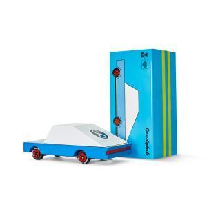 Candylab Blue Racer Candylab Holzauto