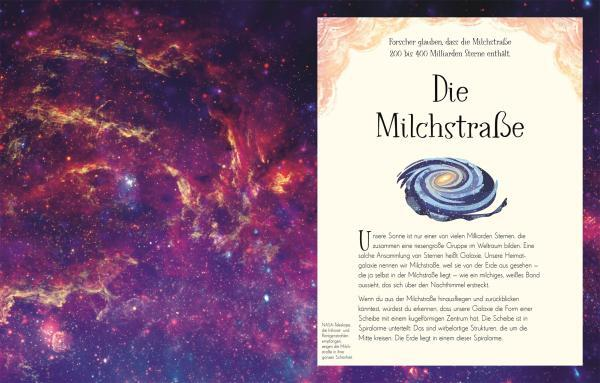 7001003 DK Wundervolle Welt der Sterne - Sachbuch für die ganze Familie - 9783831042067 - Die Milchstraße