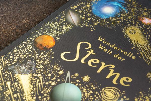 7001003 DK Wundervolle Welt der Sterne - Sachbuch für die ganze Familie - 9783831042067 - Goldprägung