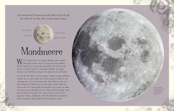7001003 DK Wundervolle Welt der Sterne - Sachbuch für die ganze Familie - 9783831042067 - Mondmeere